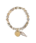 와일드 브릭스(WILD BRICKS) FEATHER BRACELET (ivory)