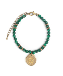 와일드 브릭스(WILD BRICKS) TH GEMSTONE BRACELET (green)