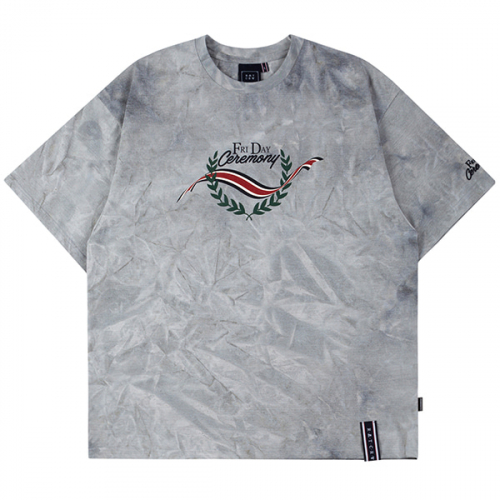 로맨틱크라운(ROMANTIC CROWN) FRIDAY TIE DYE TEE_GREY
