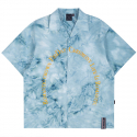 로맨틱크라운(ROMANTIC CROWN) ARCH LOGO TIE DYE SHIRT_SKY BLUE