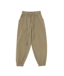 어낫띵(A NOTHING) LINEN-COTTON LOOSE-FIT JOGGER PANTS (Beige)