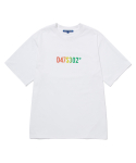 스트리트 스탠다드() GRADATION LOGO S/SLV T-SHIRTS WHITE