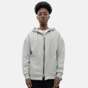 스트라이크() Lampo Zip up Loose Fit Hoodie (Gray)