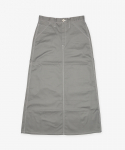 유니버셜 오버롤(UNIVERSAL OVERALL) PAINTER SKIRT GRAY