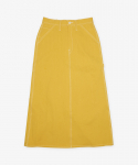 유니버셜 오버롤(UNIVERSAL OVERALL) HERRINGBONE PAINTER SKIRT YELLOW