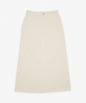 유니버셜 오버롤(UNIVERSAL OVERALL) HERRINGBONE PAINTER SKIRT NATURAL