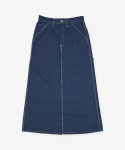 유니버셜 오버롤(UNIVERSAL OVERALL) DENIM PAINTER SKIRT INDIGO