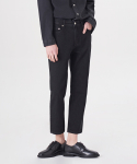 덴메이드(DENMADE) DEN matt black straight crop
