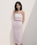 리올그() DUL SLEEVELESS LONG OPS VIOLET