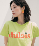 리올그(REORG) Dul PRINTING T-SHIRTS LIGHT GREEN