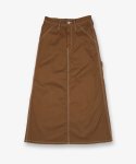유니버셜 오버롤(UNIVERSAL OVERALL) PAINTER SKIRT MOCHA