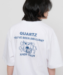 엑스피어() x Quartz orgn T-shirts White