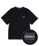 스트리트 스탠다드() SD-LOGO S/SLV T-SHIRTS BLACK