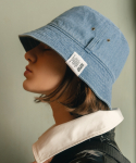 슬리피슬립(SLEEPYSLIP) [unisex]EL LIGHT DENIM BUCKET HAT