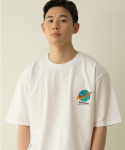 뱅어스() WORLDWIDE TRAVEL T-SHIRT_WHITE