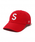 이벳필드() S LOGO BALLCAP RED