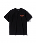 에스피오나지() Tech Typo T-Shirt Black