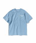 에스피오나지(ESPIONAGE) Tech Typo T-Shirt Sky Blue