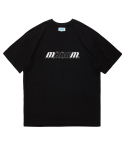 마크엠(MARKM) Basic Sports Logo T-Shirts BK
