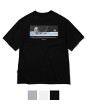 그루브라임(GROOVE RHYME) LUNAR PROBE PRINT T-SHIRTS (3 COLOR) [GTS732I23]