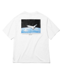 그루브라임(GROOVE RHYME) SPACESCAPE T-SHIRTS (WHITE) [GTS744I23WH]
