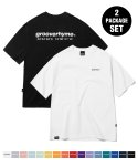 그루브라임(GROOVE RHYME) [패키지] NYC LOCATION T-SHIRT (10 COLORS) [GTS721I23]