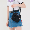 프레이() TAPE MINI CROSS BAG - BLACK