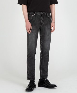 브랜디드(BRANDED) 1981 BLACK STANDARD3 JEANS [CROP SLIM]