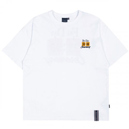 FRIDAY SCORE BOARD TEE_WHITE