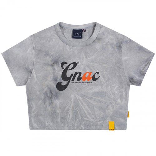 로맨틱크라운(ROMANTIC CROWN) GNAC TIE DYE TEE_GREY