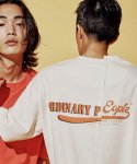 오디너리피플() OLD SCHOOL ARMY LOGO CREAM T-SHIRTS