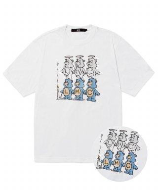 엘엠씨(LMC) LMC THREE BEARS TEE white