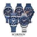 스콜피온(SCORPION) 2020 SS Trend Color BLUE Metal Watches