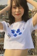 하이스쿨디스코(HIGH SCHOOL DISCO) Butterfly Cutting T-shirts