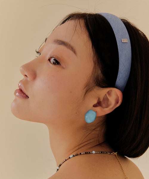 유지떼(USITE) Denim Hair Band (2Color)