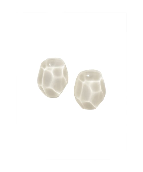 유지떼(USITE) Wave Earring_Ivory