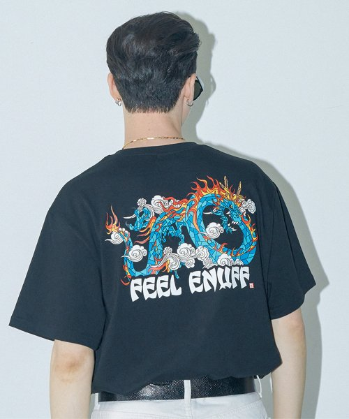 필이너프(FEELENUFF) DRAGON TEE / BLACK