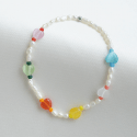 트레쥬(TREAJU) mini colorful heart bracelet