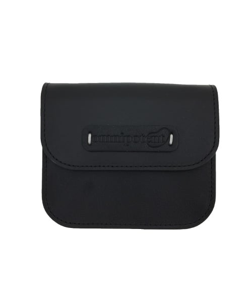 옴니포턴트(OMNIPOTENT) pin wallet bag [black]