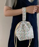 소곤소곤(SOGONSOGON) Flower garden string bag