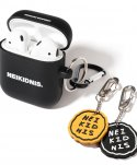 네이키드니스(NEIKIDNIS) AIRPOD CASE & KEY RING SET / BLACK