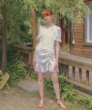 하케쉬(HACKESCH) Lovely Day Dress_White
