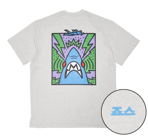 칼리프애쉬(CALIPHASH) (CALIPHASH x UNIVERSAL) JAWS Pop Art TEE_M