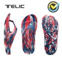 텔릭(TELIC) 리커버리 컴포트 슈즈 FLIP FLOP_LIMITED EDITION_MARBLING RED BLUE