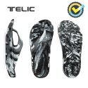 텔릭(TELIC) 리커버리 컴포트 슈즈 FLIP FLOP_LIMITED EDITION_MARBLING BLACK