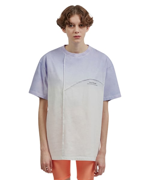 Dyeing T-shirt_Light Violet