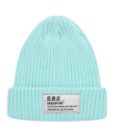 5252 바이 오아이오아이(5252BYOIOI) TAG LABEL BEANIE_mint