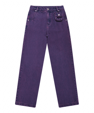 5252 바이 오아이오아이(5252BYOIOI) DYEING COLOR JEANS_purple