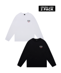 5252 바이 오아이오아이() ORIGINAL LOGO 2 PACK LONG SLEEVE T-SHIRTS_multi