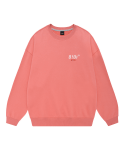 5252 바이 오아이오아이(5252BYOIOI) SIDE LOGO JUMPER_coral